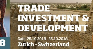 African Development & Investment Convention (ADIC), Zurich, 25-26 October 2018