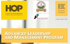 Advanced Leadership and Management Program – Africa (ALMP) 2019