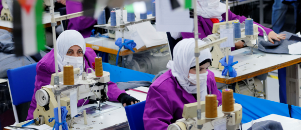 MIDDLE-EAST – Jordan Women Workers Continue Making Protective Wears Amidst Coronavirus Hits