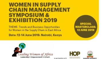 WSCA Symposium & Exhibition, 12-14 June 2019, Nairobi – Kenya