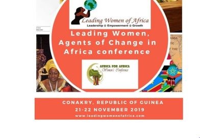 Leading Women, Agents of Change in Africa Conference, 21-22 Nov. 2019, Konakry