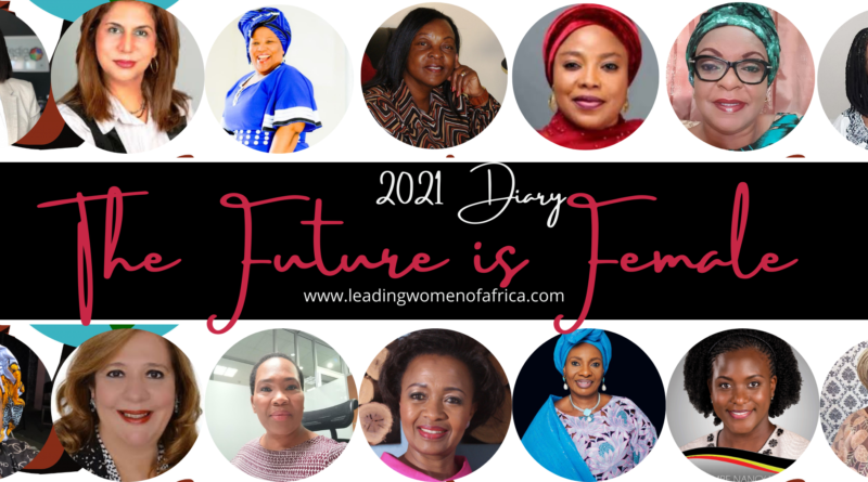 The Future is Female 2021 Diary. Get your copy now!
