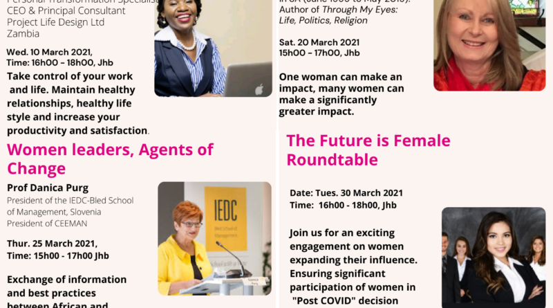 The Future is Female Women's Month conversation Series